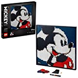 LEGO 31202 Art Disney's Mickey Mouse Set, Poster, Wanddekoration, DIY Puzzle für Erwachs...