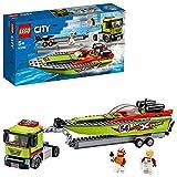 LEGO City 60254 Rennboot-Transporter