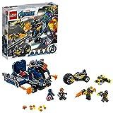 LEGO 76143 Super Heroes Marvel Avengers Truck-Festnahme Spielset mit Captain America und Hawkeye...