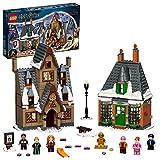 LEGO 76388 Harry Potter Besuch in Hogsmeade Spielzeug ab 8 Jahre, Set zum 20. Jubiläum mit Ron als...