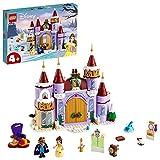 LEGO 43180 Disney Princess Belles winterliches Schloss, Die Schöne und das Biest, Spielzeug für...