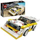 LEGO 76897 Speed Champions 1985 Audi Sport Quattro S1, Rennwagenspielzeug mit Rennfahrer Minifigur,...