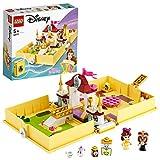 LEGO43177DisneyPrincessBellesMärchenbuchAbenteuer-Set,SchlossausdemFilmDieSc...