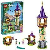 LEGO 43187 Disney Princess Rapunzels Turm, Spielset mit 2 Minipuppen aus dem Film Rapunzel - Neu...