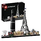 Lego 21044 Architecture Paris Skyline-Kollektion, Baumodell mit Eiffelturm und Louvre, Geschenkidee...