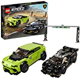 LEGO 76899 Speed Champions Lamborghini Urus ST-X & Lamborghini Huracán Super Trofeo EVO, Rennwagen...