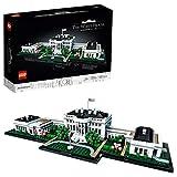 LEGO 21054 Architecture Das Weiße Haus, Sammlung von Sehenswürdigkeiten für Erwachsene,...