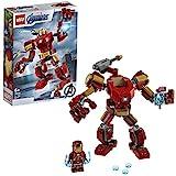 LEGO 76140 Super Heroes Marvel Avengers Iron Man Mech Spielset, Kampf-Actionfigur für Kinder ab 6...