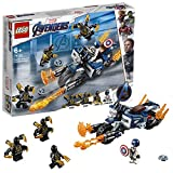 LEGO 76123 - Marvel Super Heroes Captain America: Outrider-Attacke