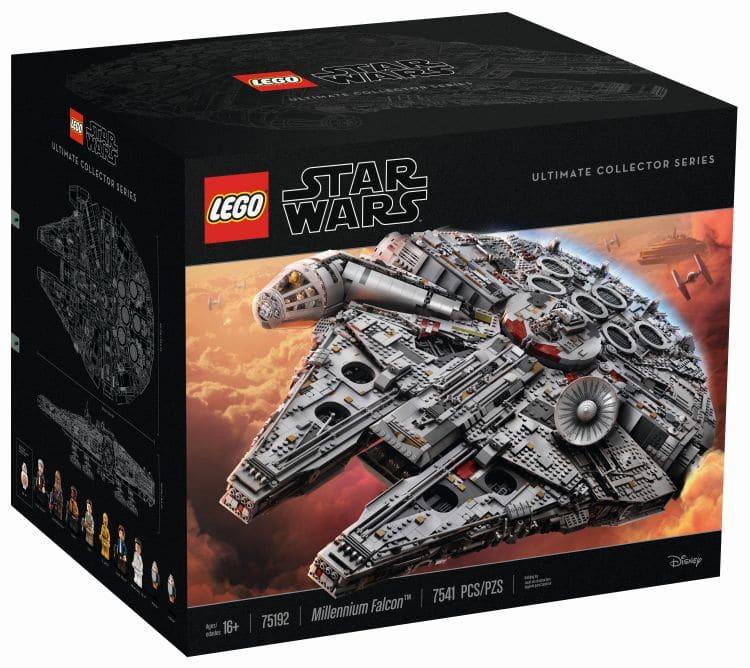 LEGO 75192 UCS Millennium Falcon Box Vorne