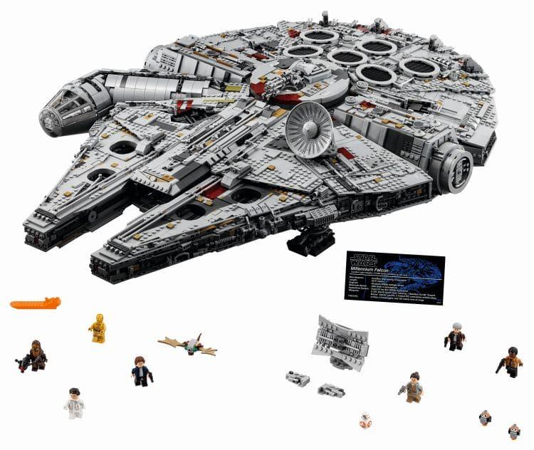 LEGO 75192 UCS Millennium Falcon inkl Minifiguren
