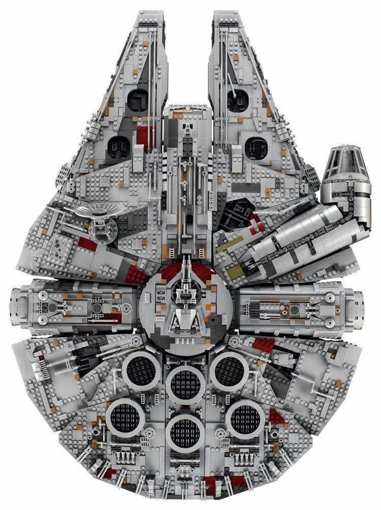 LEGO 75192 UCS Millennium Falcon Oben