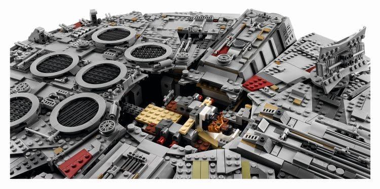 LEGO 75192 UCS Millennium Falcon Öffnung Oben