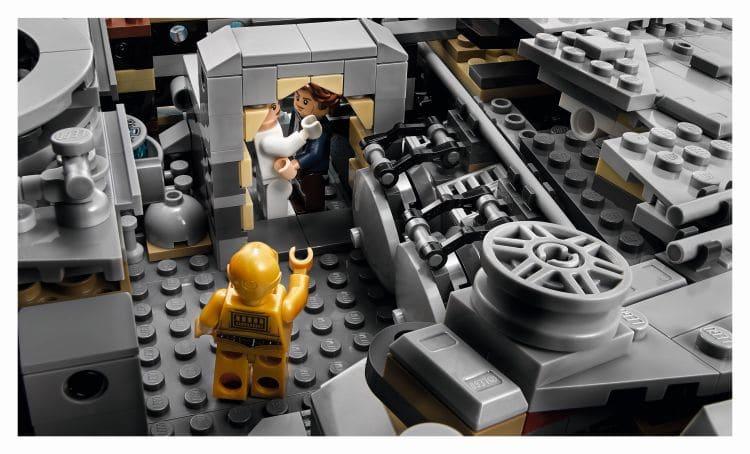 LEGO 75192 UCS Millennium Falcon Innenraum