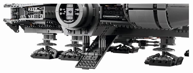 LEGO 75192 UCS Millennium Falcon Einstieg