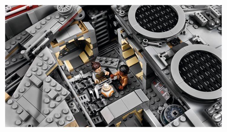 LEGO 75192 UCS Millennium Falcon Innenraum Sitzplatz