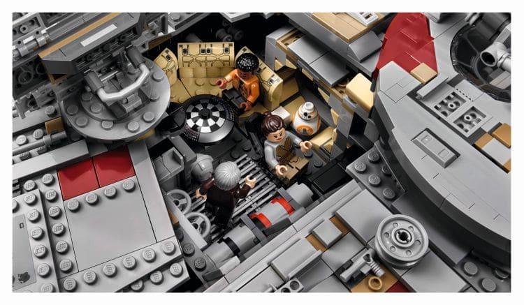 LEGO 75192 UCS Millennium Falcon Schachbrett