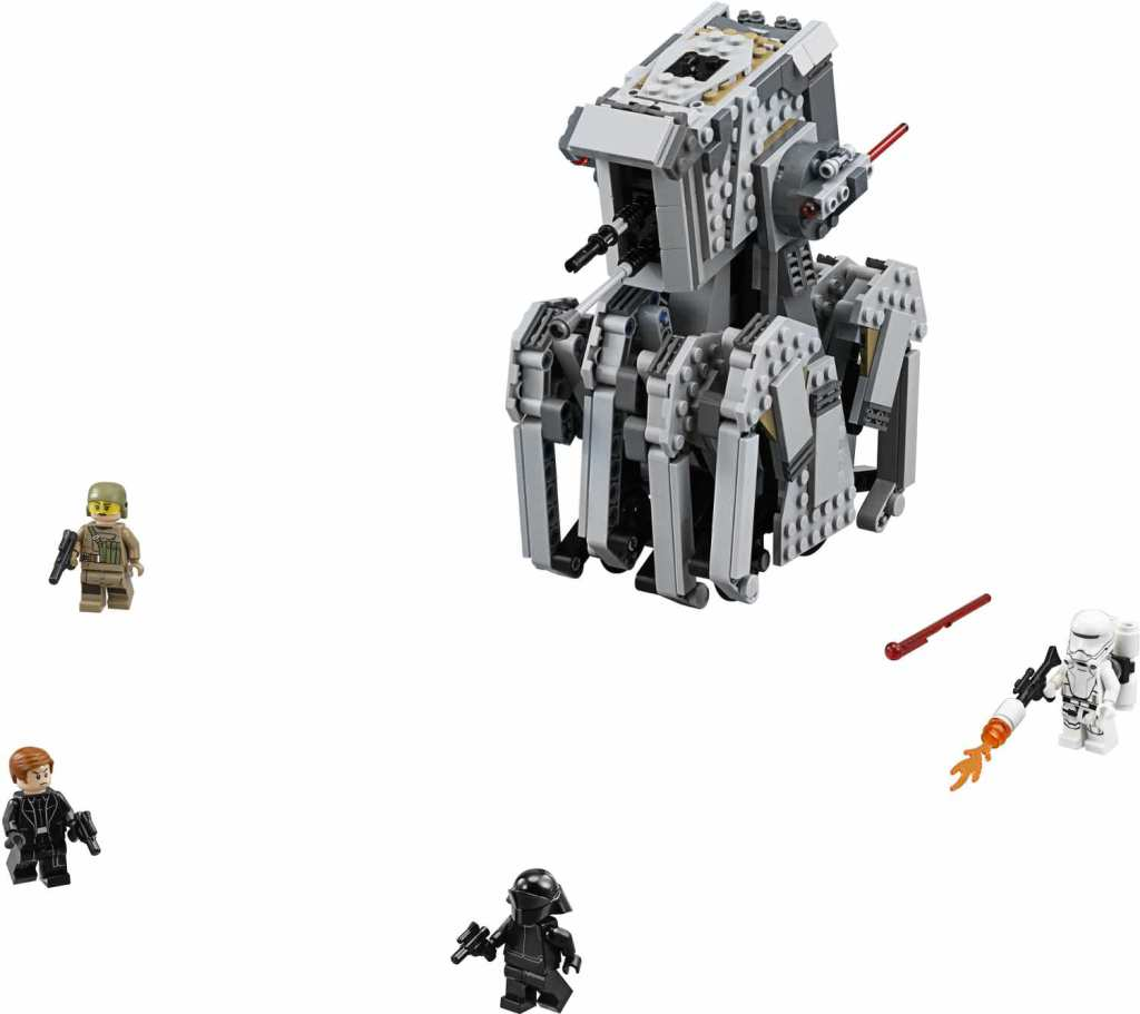 LEGO 75177 First Order Heavy Scout Walker Detail