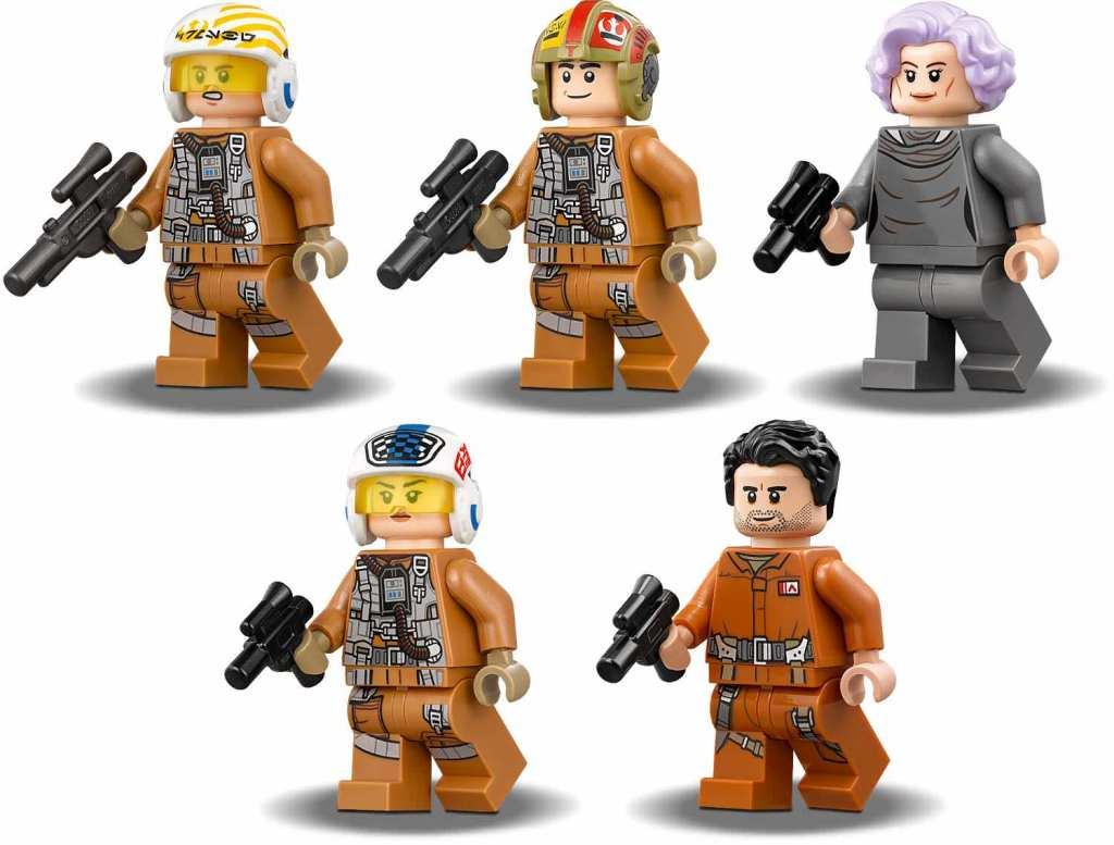 LEGO Star Wars 75188 Resistance Bomber Minifiguren
