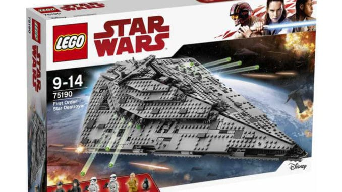 LEGO Star Wars 75190 First Order Star Destroyer Verpackung