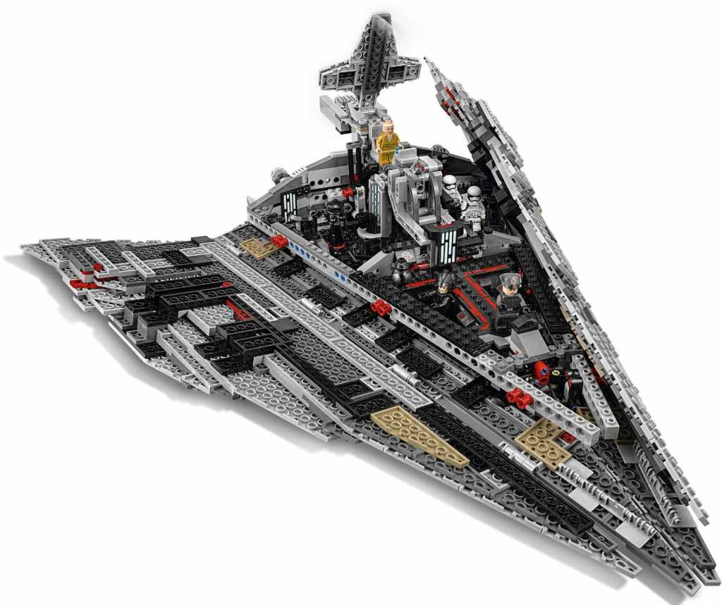 LEGO Star Wars 75190 First Order Star Destroyer Innenleben
