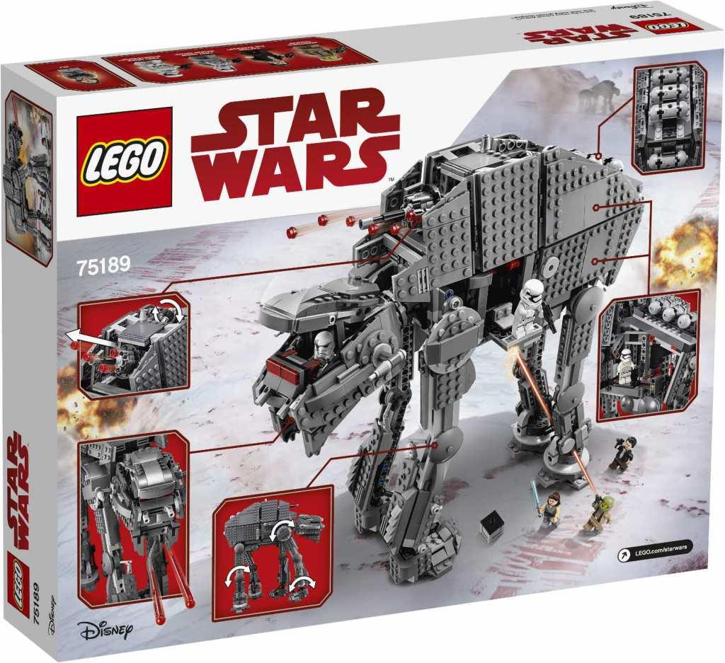 First Order Heavy Assault Walker Verpackung hinten