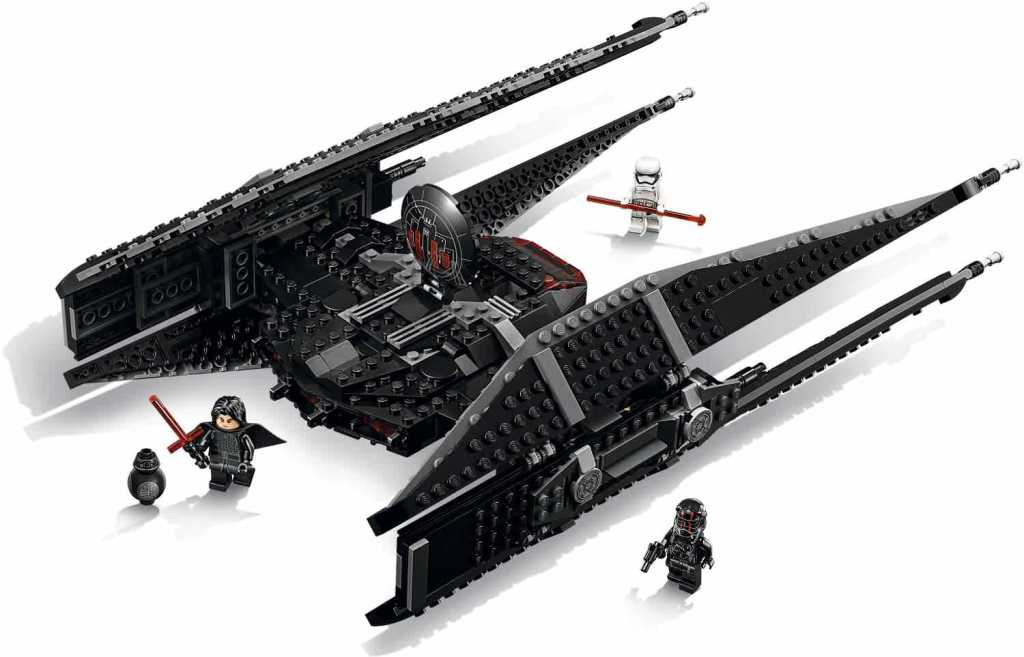 LEGO Star Wars 75179 Kylo Rens Tie Fighter Detail