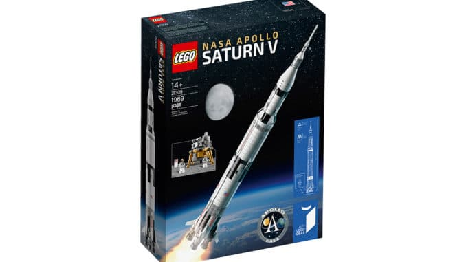 LEGO 21309 NASA Apollo 11 Rakete