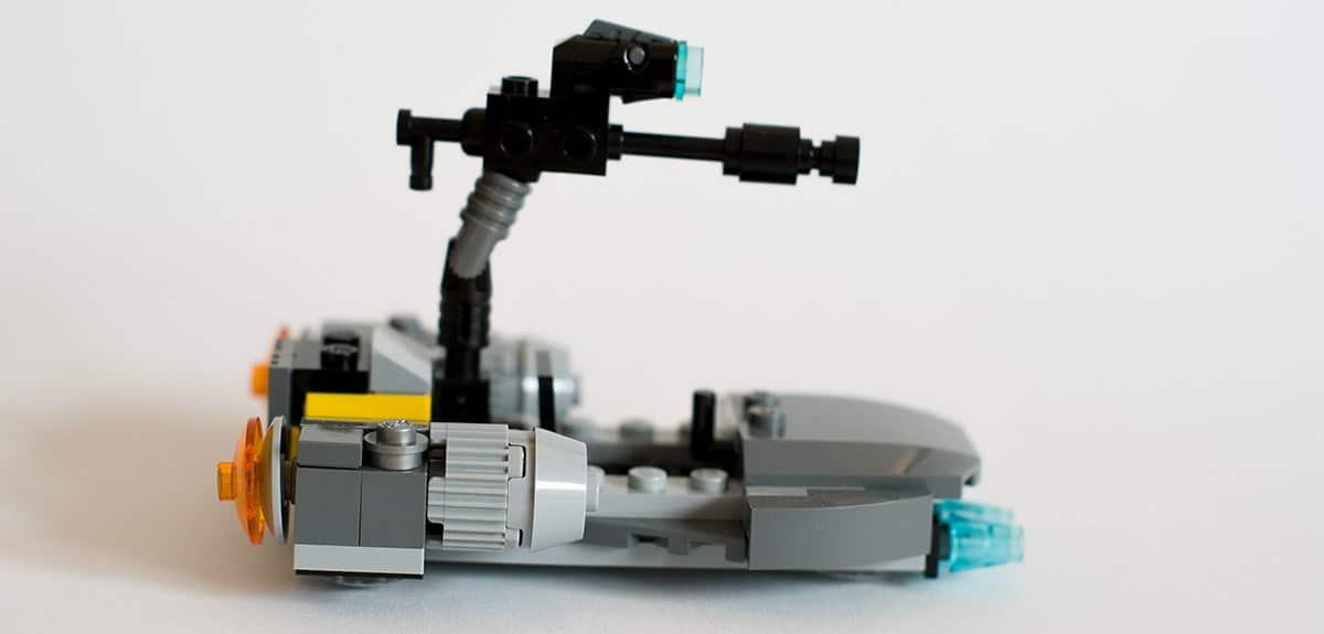 LEGO 75131 Speeder seitlich