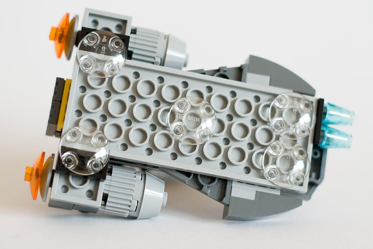 LEGO 75131 Speeder von unten