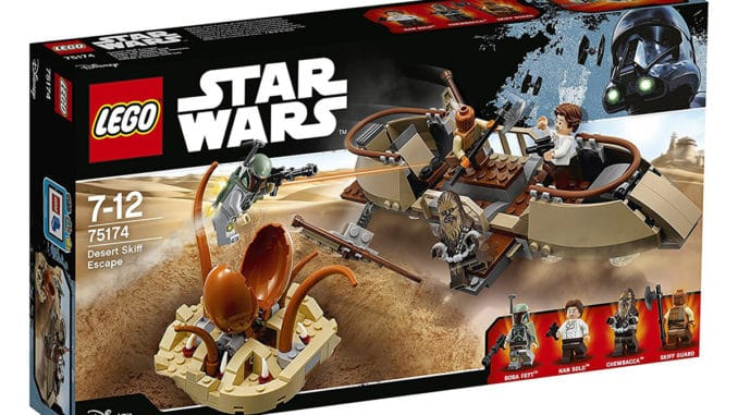 LEGO Star Wars 75174 Desert Skiff Escape Angebot