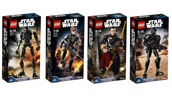 LEGO Star Wars Buildable Action Figures Angebot