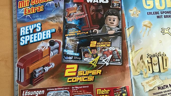 LEGO Star Wars Magazin Ausblick Ausgabe #27