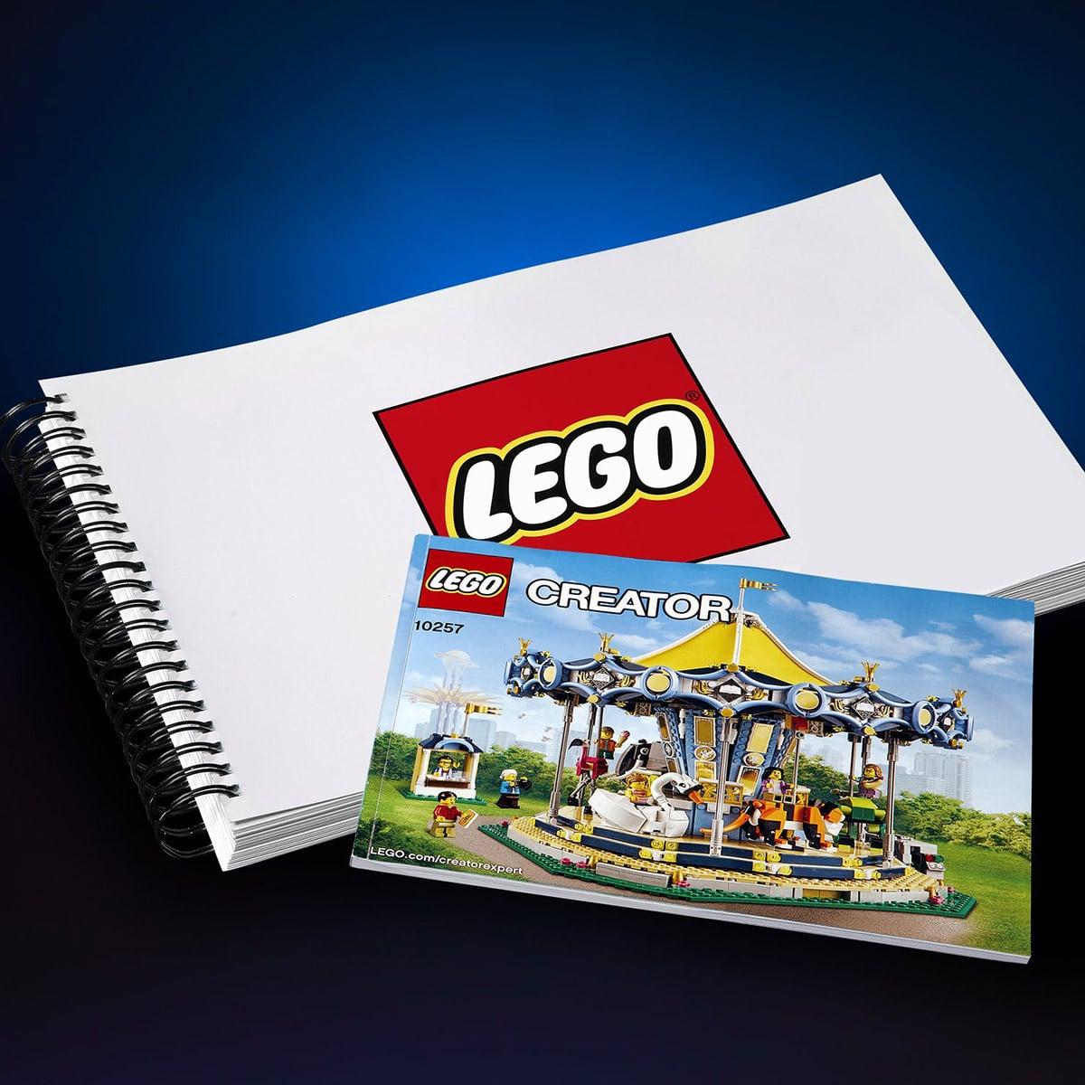 LEGO Star Wars UCS Millenium Falcon Anleitung Teaser