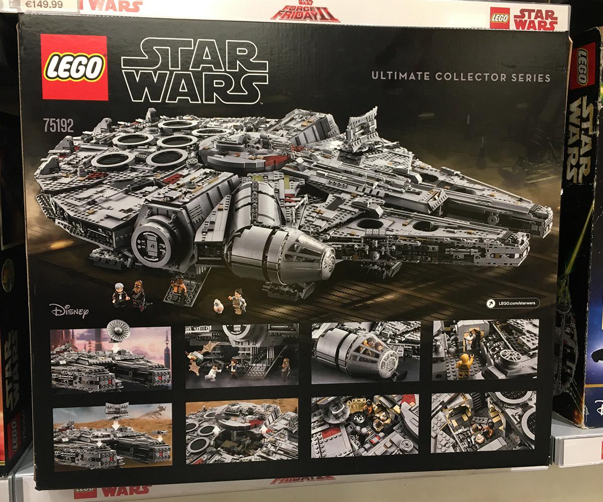 LEGO 75192 Verpackung Rückseite
