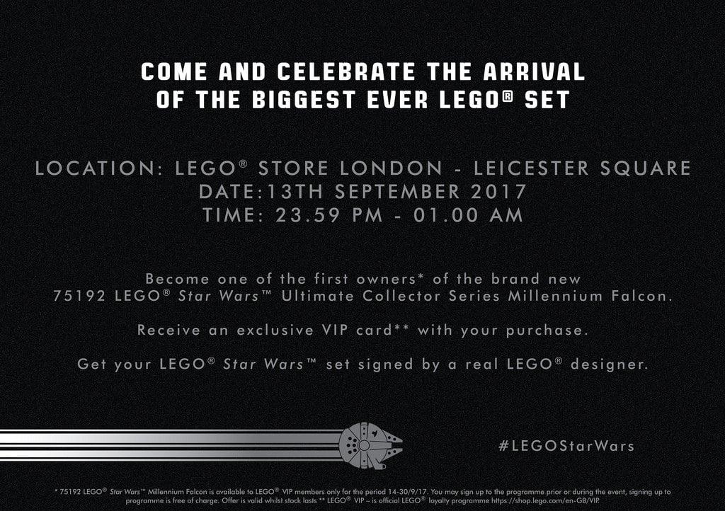 LEGO 75192 Millennium Falcon Vorverkauf