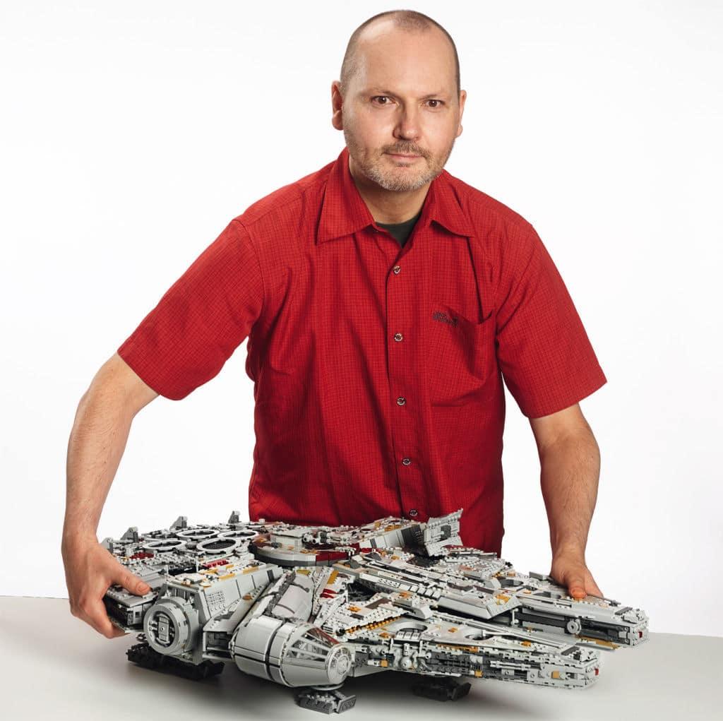 Burkhard Schlömer UCS Millennium Falcon