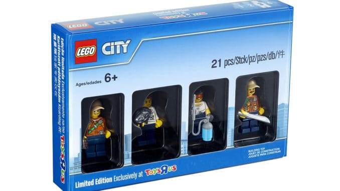 LEGO 5004940 City Minifiguren Bricktober 2017