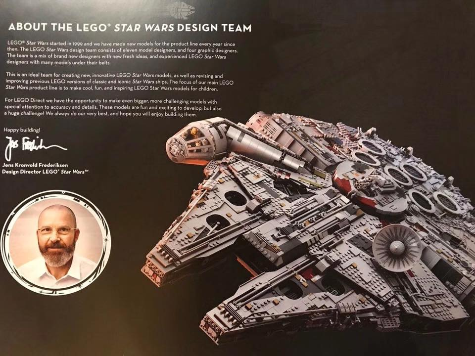 UCS Millennium Falcon Interview Vorwort
