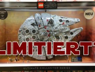 Ist der LEGO 75192 UCS Millennium Falcon Limitiert?