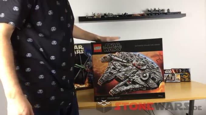 LEGO 75192 UCS Millennium Falcon Unboxing