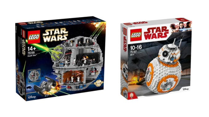 20 rabatt auf alles von lego auch the last jedi bei. Black Bedroom Furniture Sets. Home Design Ideas