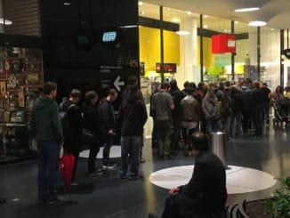 LEGO Store Frankfurt VIP Verkauf Millennium Falcon