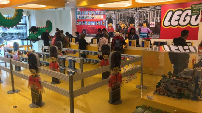 LEGO Store London Leicester Square
