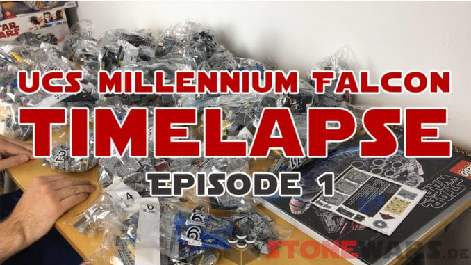 LEGO Star Wars UCS Millennium Falcon im Zeitraffer