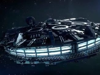 LEGO Star Wars UCS Millennium Falcon Trailer