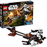 Lego 75532 Star Wars Scout Trooper und Speeder Bike, Star Wars- Baufigur