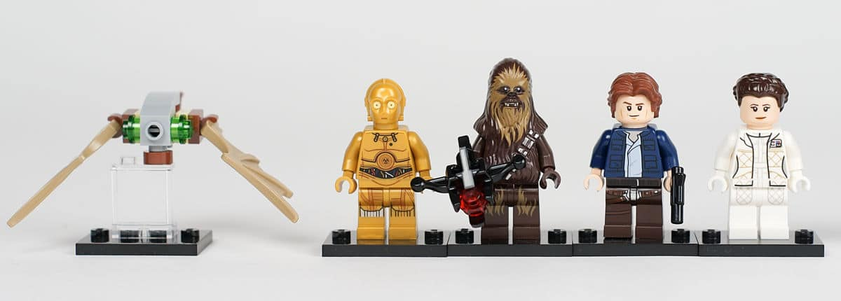 Minifiguren der Original Trilogie