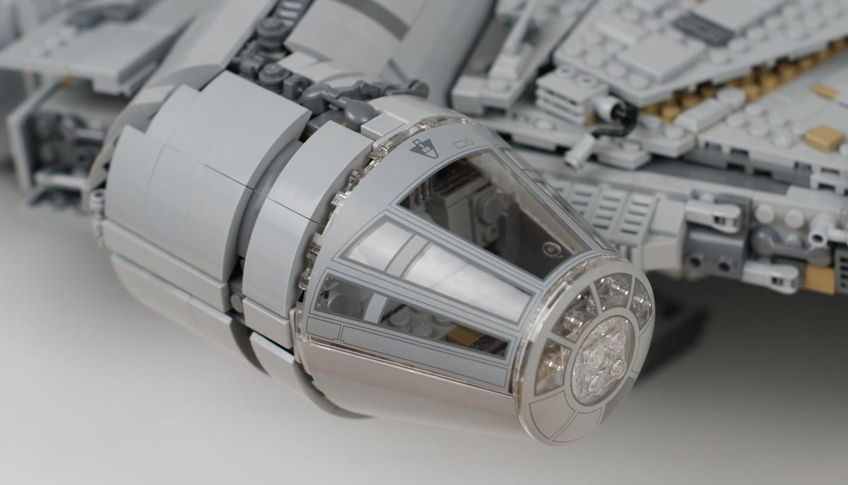 Bedrucktes Cockpit UCS Milennium Falcon