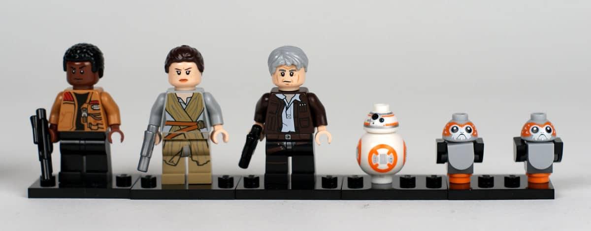 Minifiguren der Sequel Trilogie